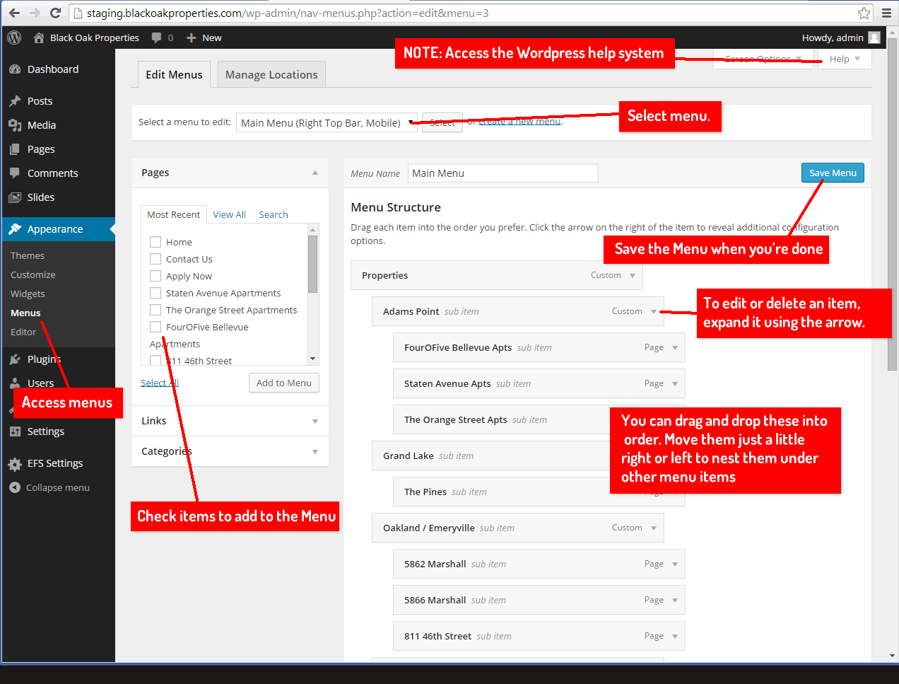 screenshot-menus