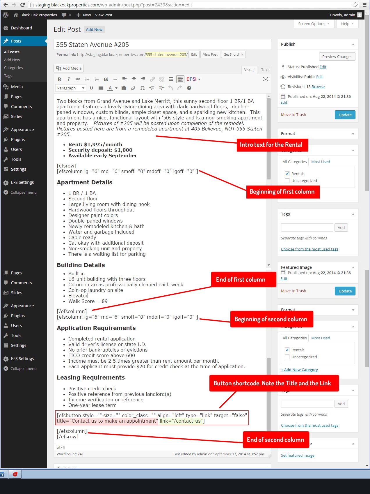 screenshot-shortcodes